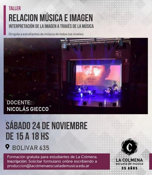 Clínica Relación Música e Imagen