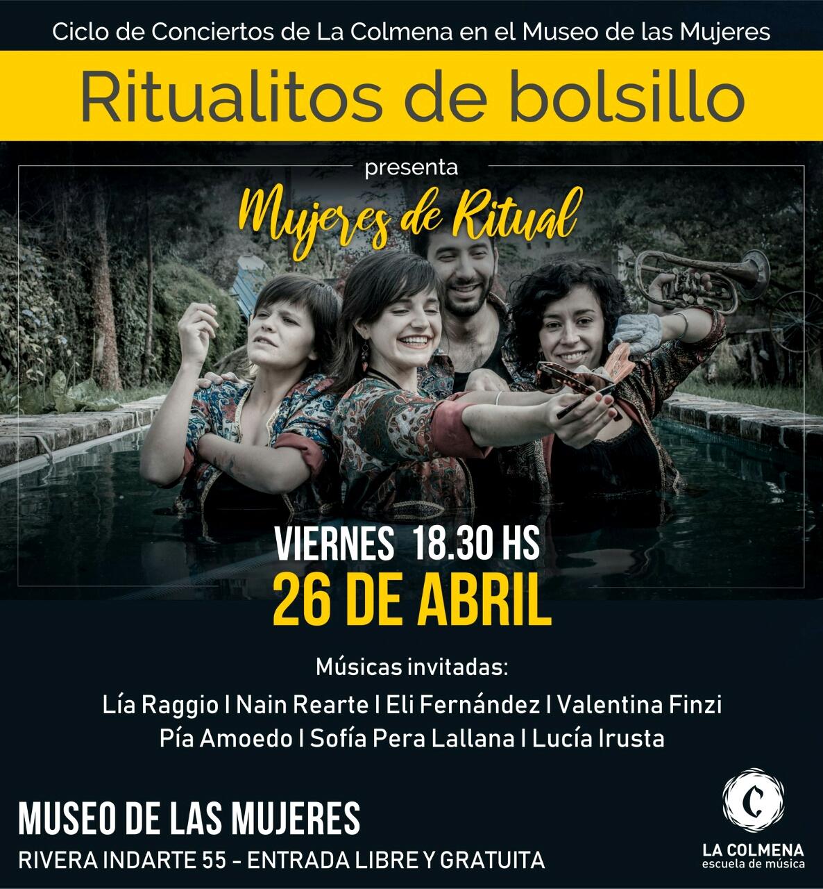 Re apertura del Ciclo de conciertos de La Colmena en el Museo de las Mujeres