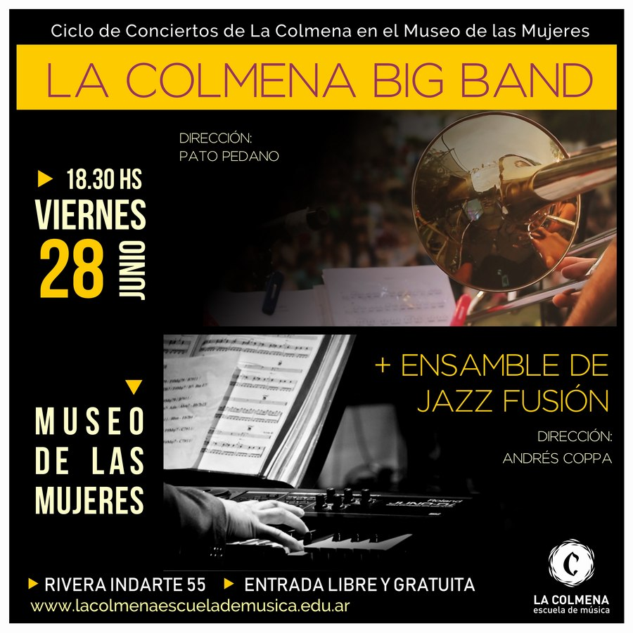 La Colmena Big Band + Ensamble de Jazz