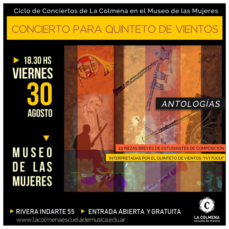 Antología: 13 piezas breves para Quinteto de Vientos