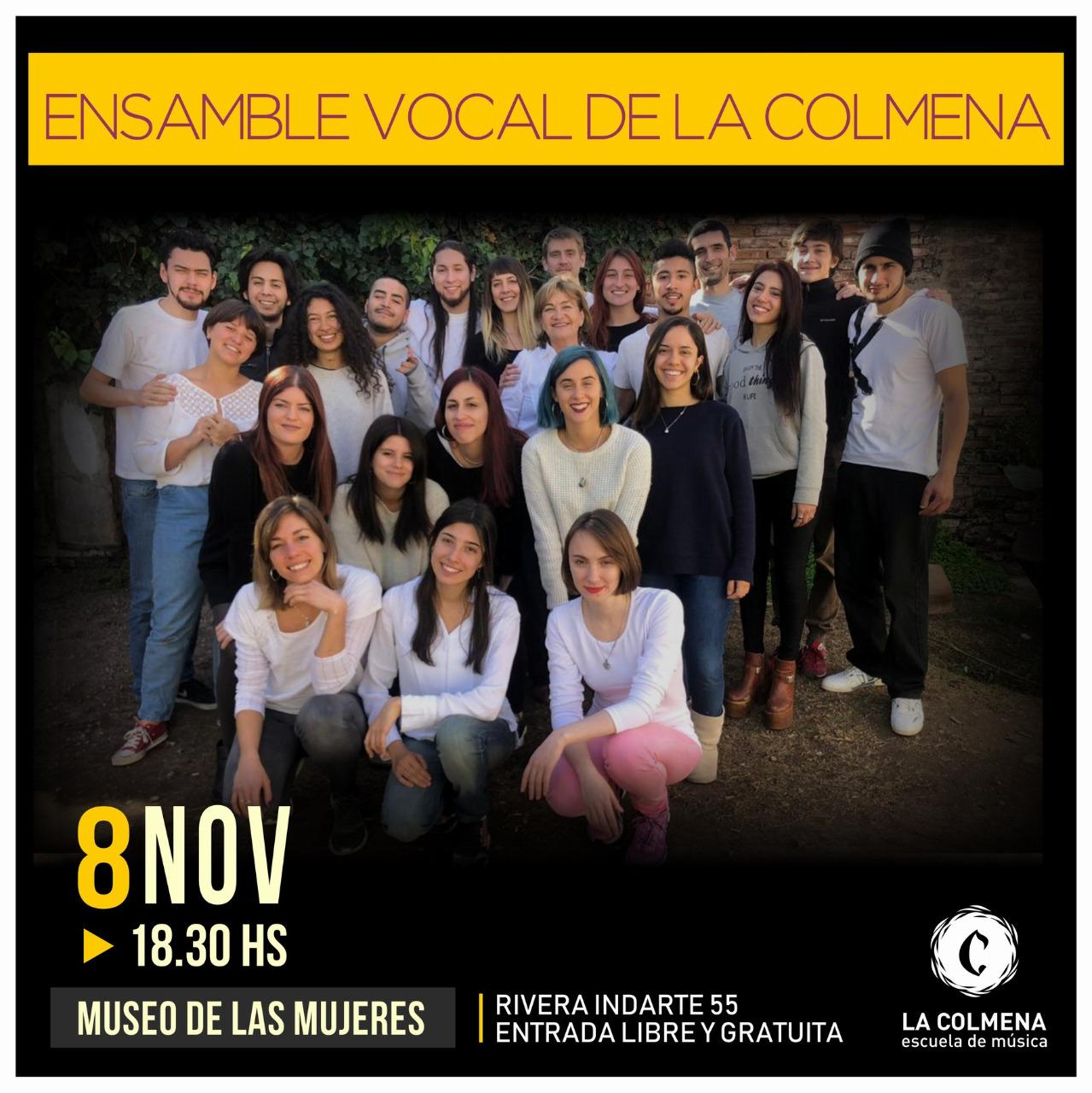 Ensamble Vocal de La Colmena en el Museo de las Mujeres