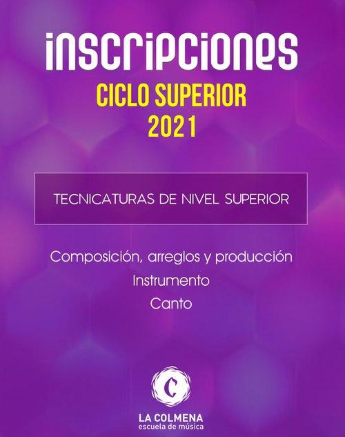 Inscripciones para el ciclo lectivo 2021